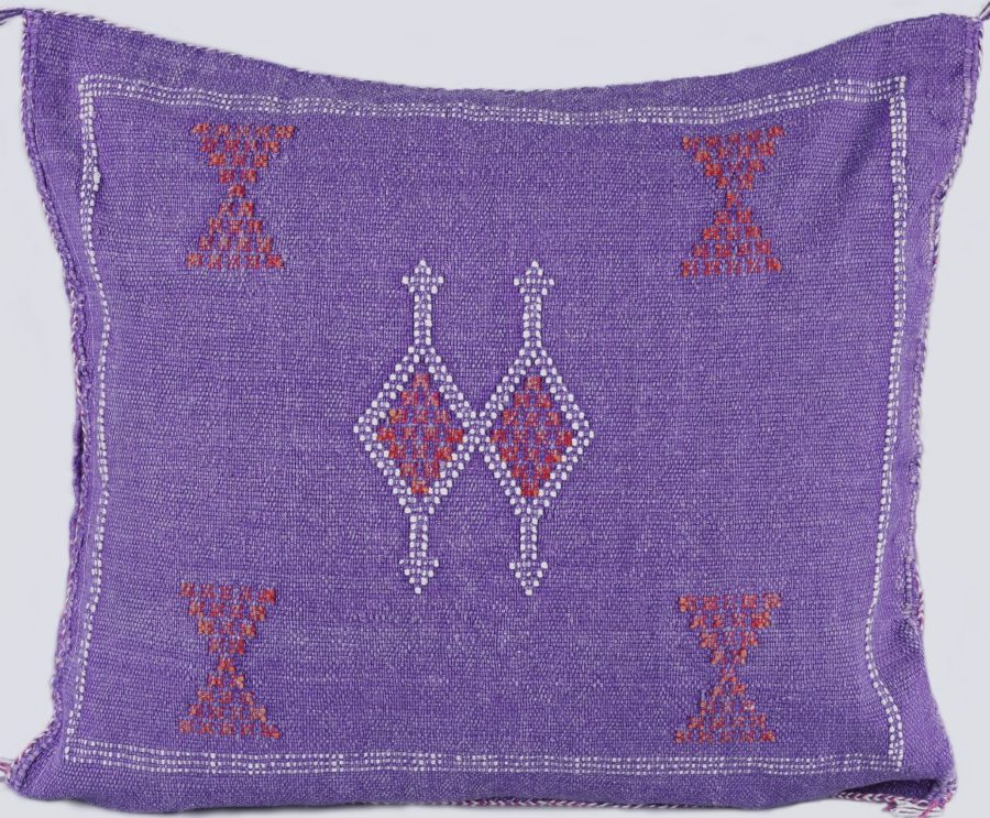 Coussin Sabra violet