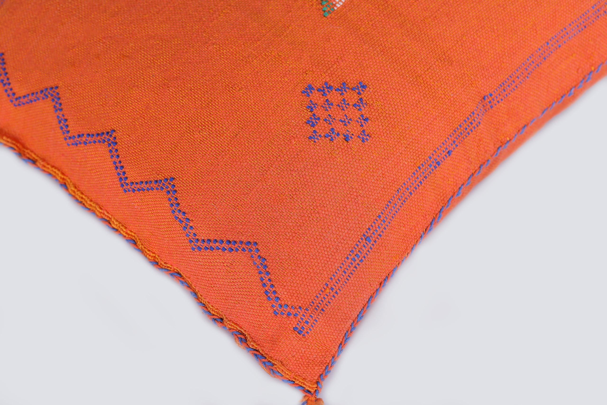 Coussin Sabra orange